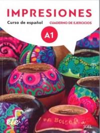 Impresiones A1 Ćwiczenia + online - okładka podręcznika