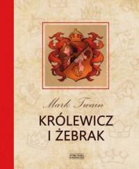Królewicz i żebrak - okładka książki