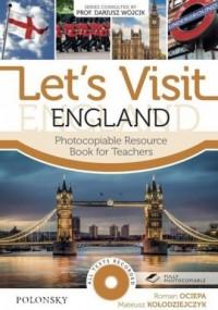Lets Visit England. Photocopiable - okładka książki