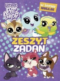 Littlest Pet Shop Zeszyt zadań - okładka książki