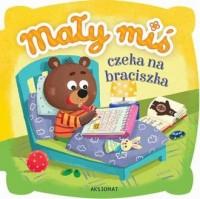 Mały miś czeka na braciszka - Wydawnictwo - okładka książki
