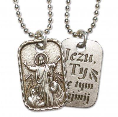 Medalik Chrystusa Pocieszyciela -