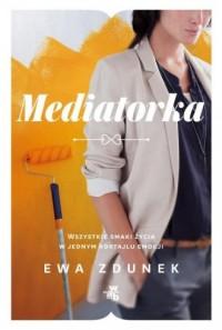 Mediatorka - okładka książki