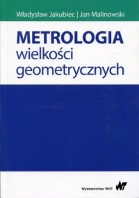 Metrologia wielkości geometrycznych - okładka książki