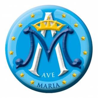 Naklejka samochodowa Ave Maria -