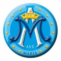 Naklejka samochodowa Ave Maria - dewocjonalia