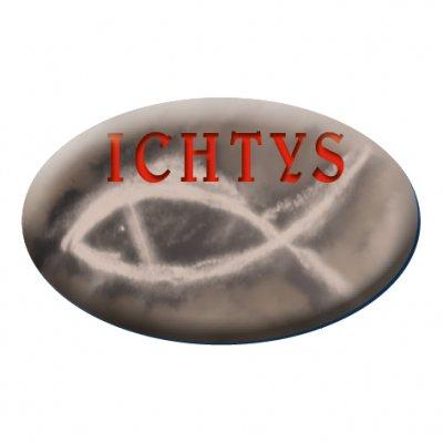 Naklejka samochodowa ICHTYS -