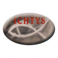 Naklejka samochodowa ICHTYS - dewocjonalia