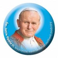 Naklejka samochodowa Św. Jan Paweł II - dewocjonalia