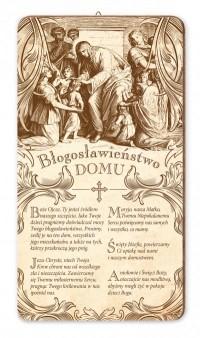 Obrazek Błogosławieństwo domu Pan Jezus błogosławiący - dewocjonalia