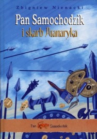 Pan Samochodzik i skarb Atanaryka - okładka książki