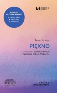 Piękno - Roger Scruton - okładka książki