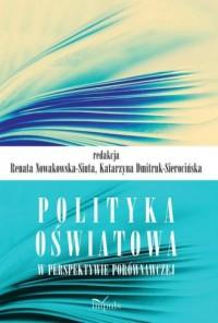 Polityka oświatowa w perspektywie porównawczej - okładka książki