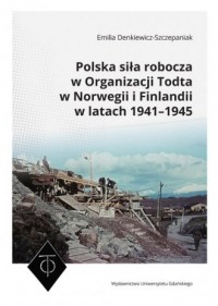 Polska siła robocza w Organizacji Todta w Norwegii i Finlandii w latach 1941-1945 - okładka książki