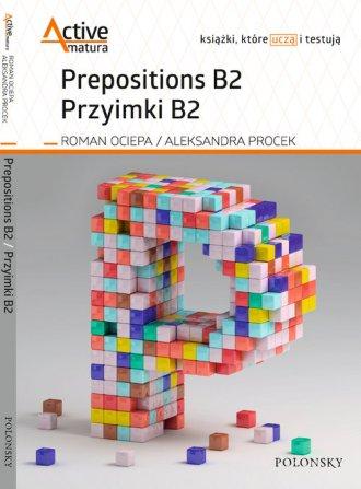Prepositions B2 Przyimki B2 - okładka podręcznika