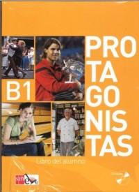 Protagonistas B1. Podręcznik (+ 2 CD) - okładka podręcznika