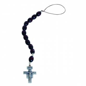 Różaniec samochodowy - Krzyż św. -
