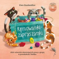 Rymowanki - zapraszanki - Ewa Stadtmüller - okładka książki
