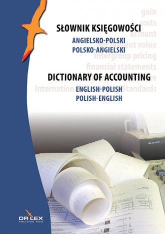 Słownik księgowości Angielsko-Polski - okładka książki