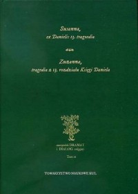 Susanna, ex Danielis 13. tragoedia. - okładka książki