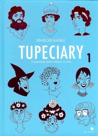 Tupeciary - okładka książki