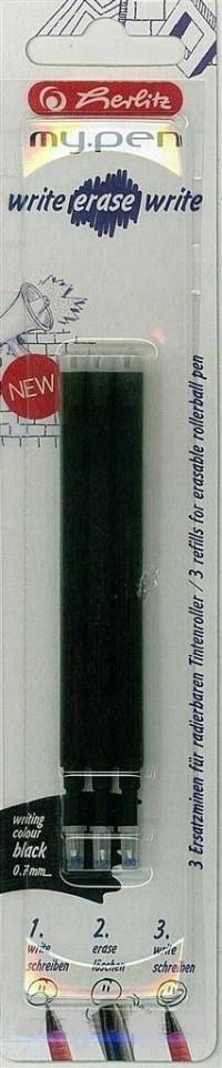 Wkład do długopisu My.Pen Czarny BL 3szt - zdjęcie produktu