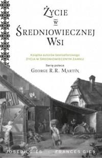 Życie w średniowiecznej wsi - okładka książki