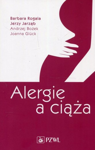Alergie a ciąża - okładka książki