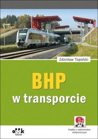 BHP w transporcie (z suplementem - okładka książki