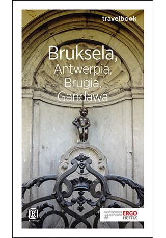 Bruksela Antwerpia Brugia Gandawa - okładka książki
