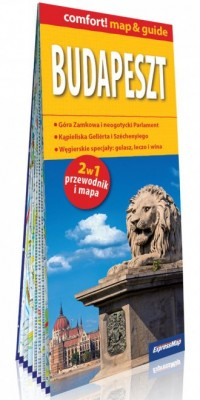 Budapeszt laminowany map&guide - okładka książki