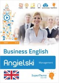 Business English - Management poziom średni B1-B2 - okładka książki