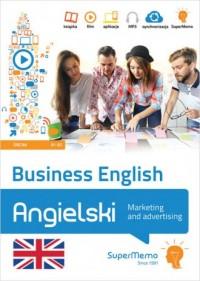 Business English - Marketing and advertising poziom średni B1-B2 - okładka książki