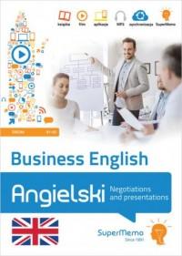 Business English Negotiations and presentations (poziom średni B1-B2) - okładka książki