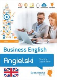 Business English - Starting a company poziom średni B1-B2 - okładka książki
