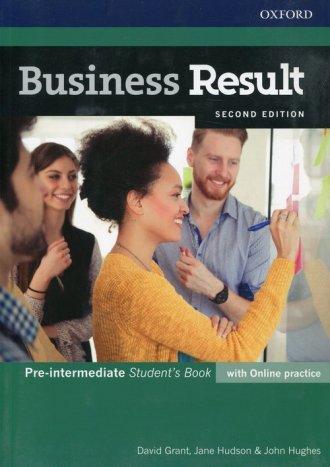 Business Result Pre-Intermediate - okładka podręcznika