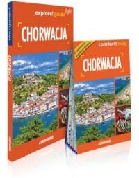 Chorwacja light: przewodnik + mapa - okładka książki