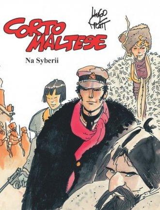 Corto Maltese Tom 6. Na Syberii - okładka książki