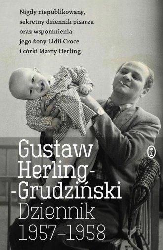 Dziennik 1957-1958 - okładka książki