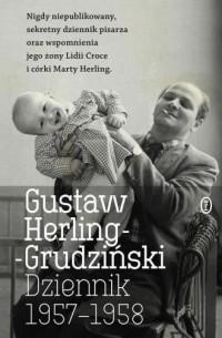 Dziennik 1957-1958 - Gustaw Herling-Grudziński - okładka książki
