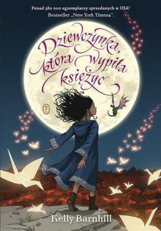 Dziewczynka, która wypiła księżyc - okładka książki