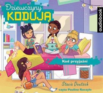 Dziewczyny kodują 1. Kod przyjaźni - pudełko audiobooku