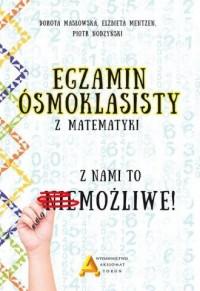 Egzamin ośmioklasisty z matematyki - okładka podręcznika