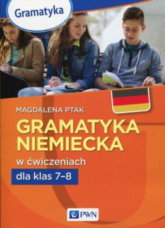 Gramatyka niemiecka w ćwiczeniach - okładka podręcznika