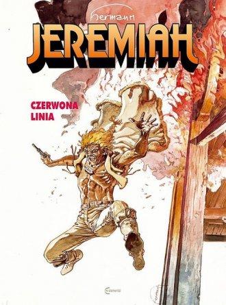 Jeremiah 16. Czerwona Linia - okładka książki