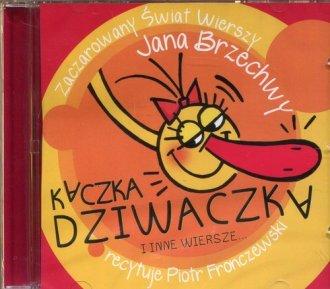 Kaczka Dziwaczka i inne wiersze - pudełko audiobooku