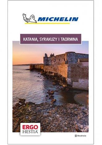 Katania Syrakuzy i Taormina Michelin - okładka książki