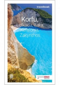 Korfu, Lefkada, Itaka, Kefalonia, Zakynthos Travelbook - okładka książki