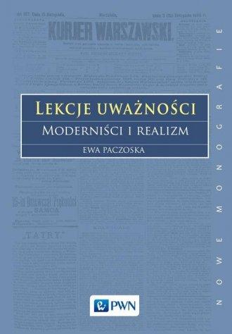 Lekcje uważności.. Moderniści i - okładka książki
