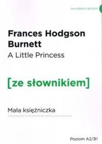 Mała Księżniczka wersja angielska z podręcznym słownikiem - okładka podręcznika